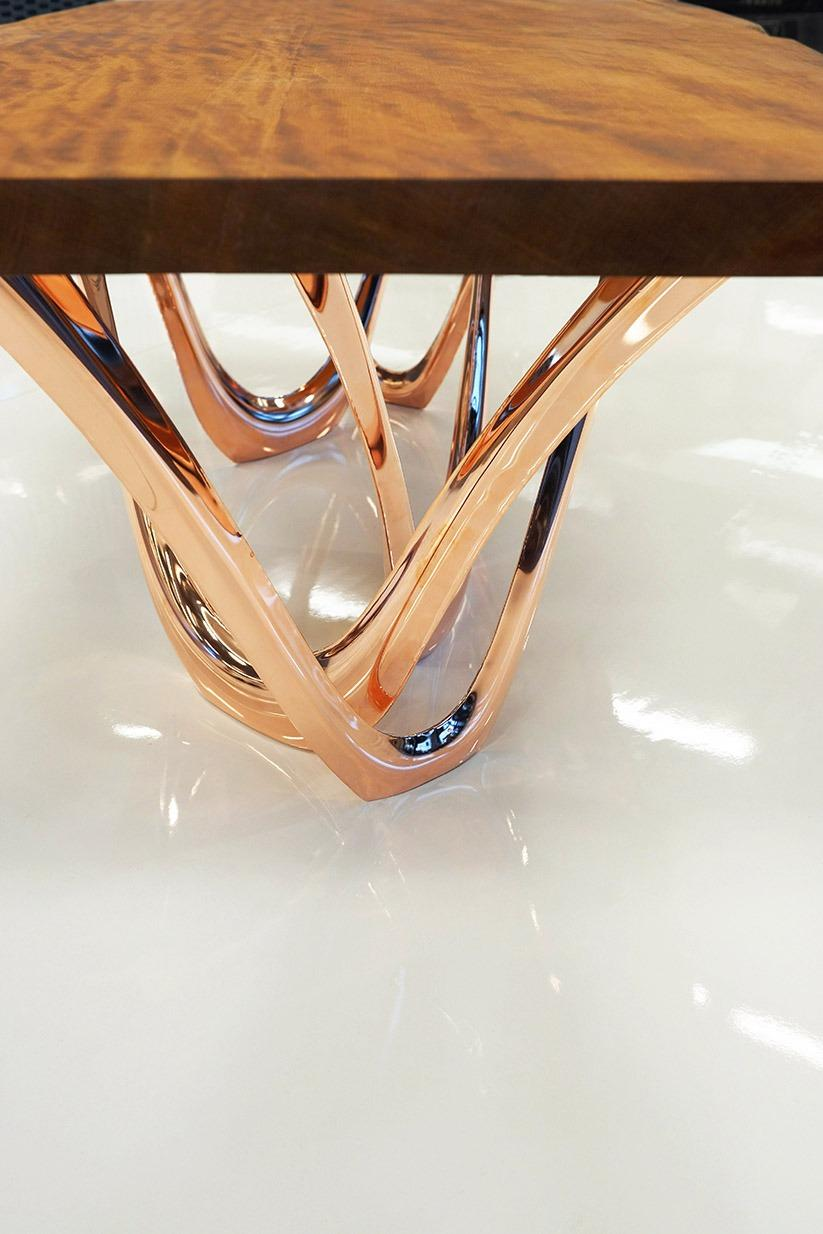 g-table kauri copper