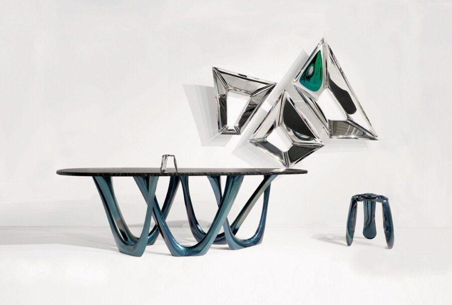 g-table heat cosmic blue granite table top ploppy miniature crystals plopp