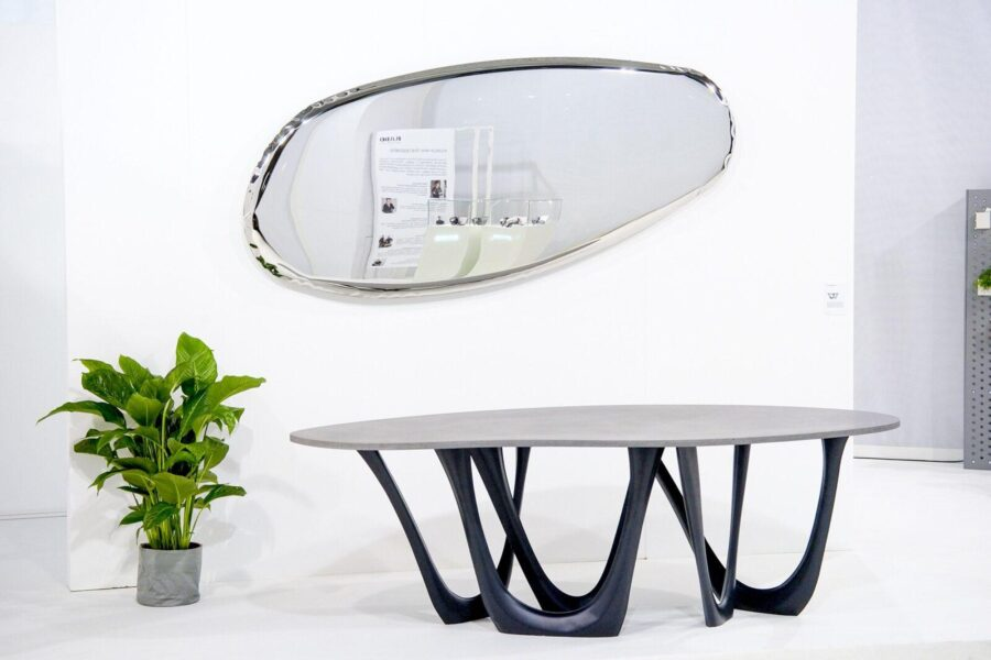 g-table concrete tafla o mirror