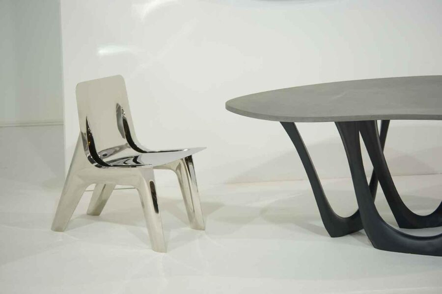 g-table concrete j-chair