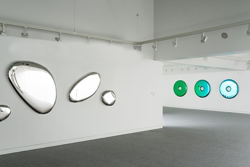 rondo mirror emerald gradient saphire tafle o