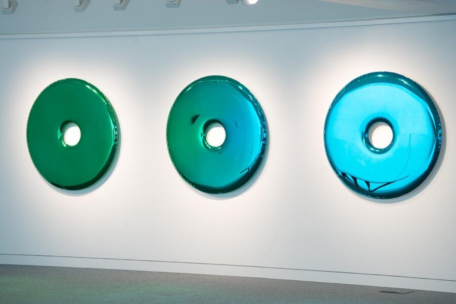 rondo mirror emerald saphire gradient