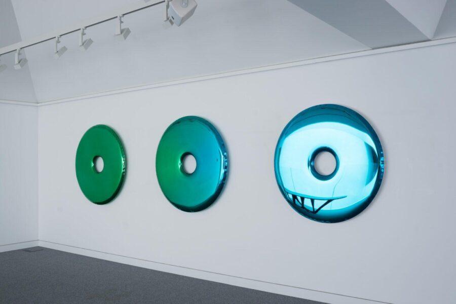 rondo mirror gradient sapphire emerald