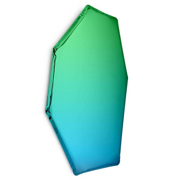 tafla C2 mirror sapphire-emerald by zieta studio
