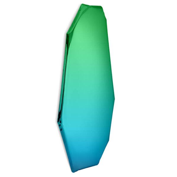 tafla C1 mirror sapphire-emerald by zieta studio