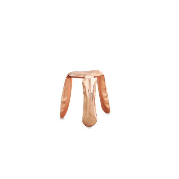 plopp mini stool material copper