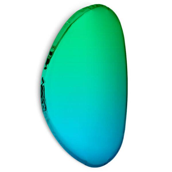 tafla O2 mirror sapphire-emerald by zieta studio