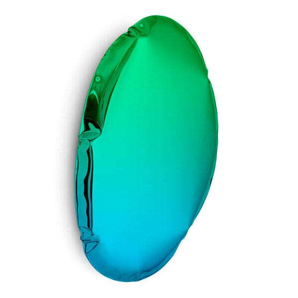 tafla O5 mirror sapphire-emerald by zieta studio