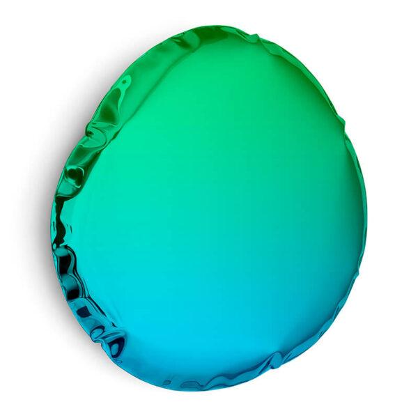 tafla O6 mirror sapphire-emerald by zieta studio