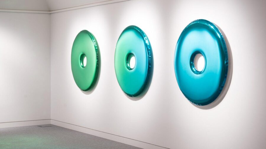rondo mirror emerald sapphire gradient