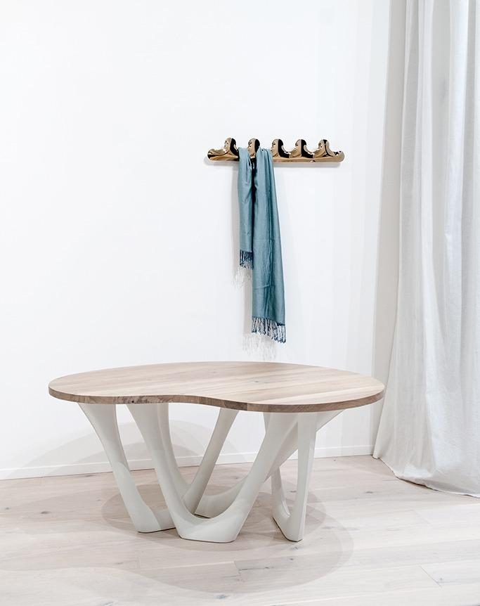 kamm hanger heat flamed gold g-table