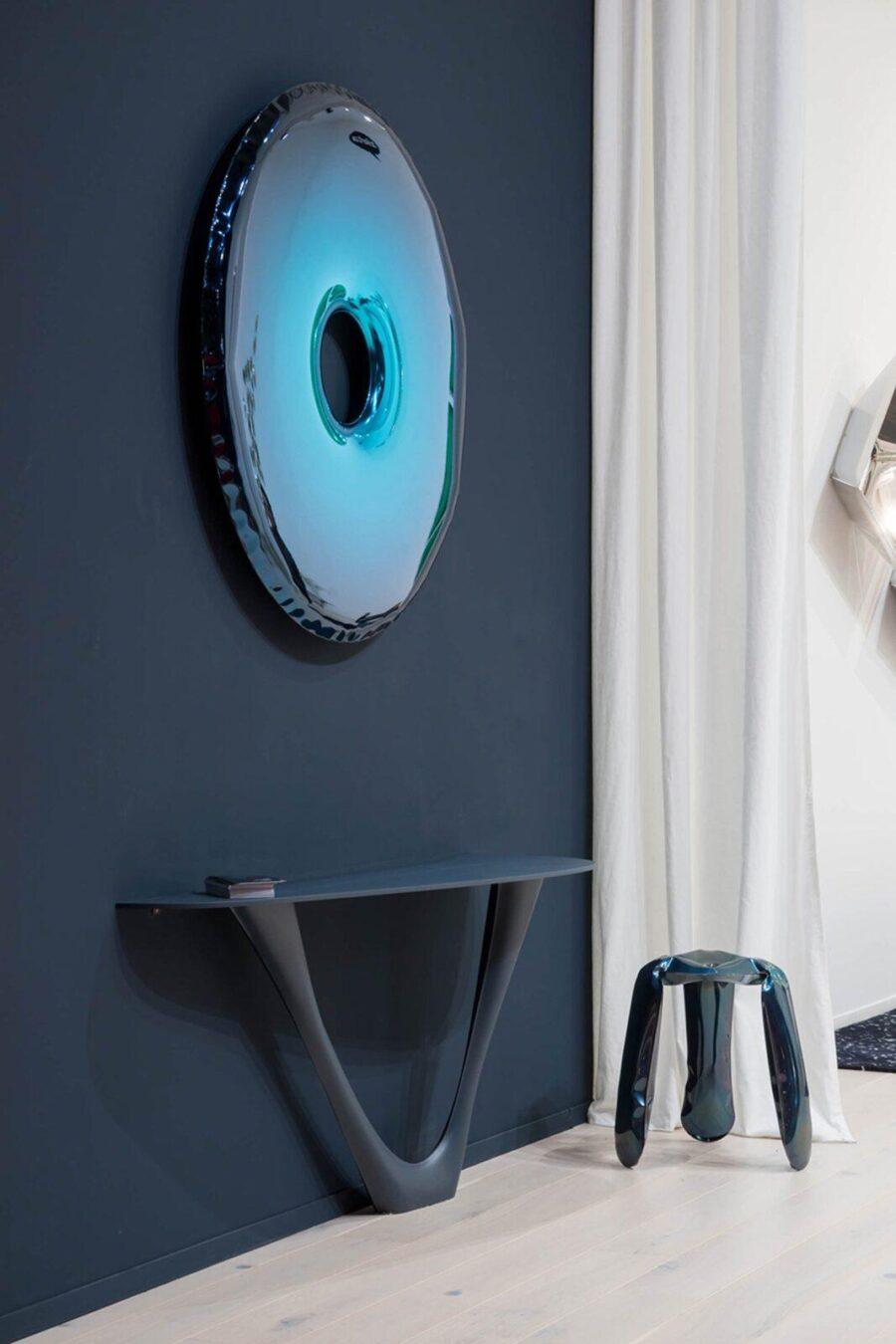 rondo mirror deep space blue g-console mono plopp