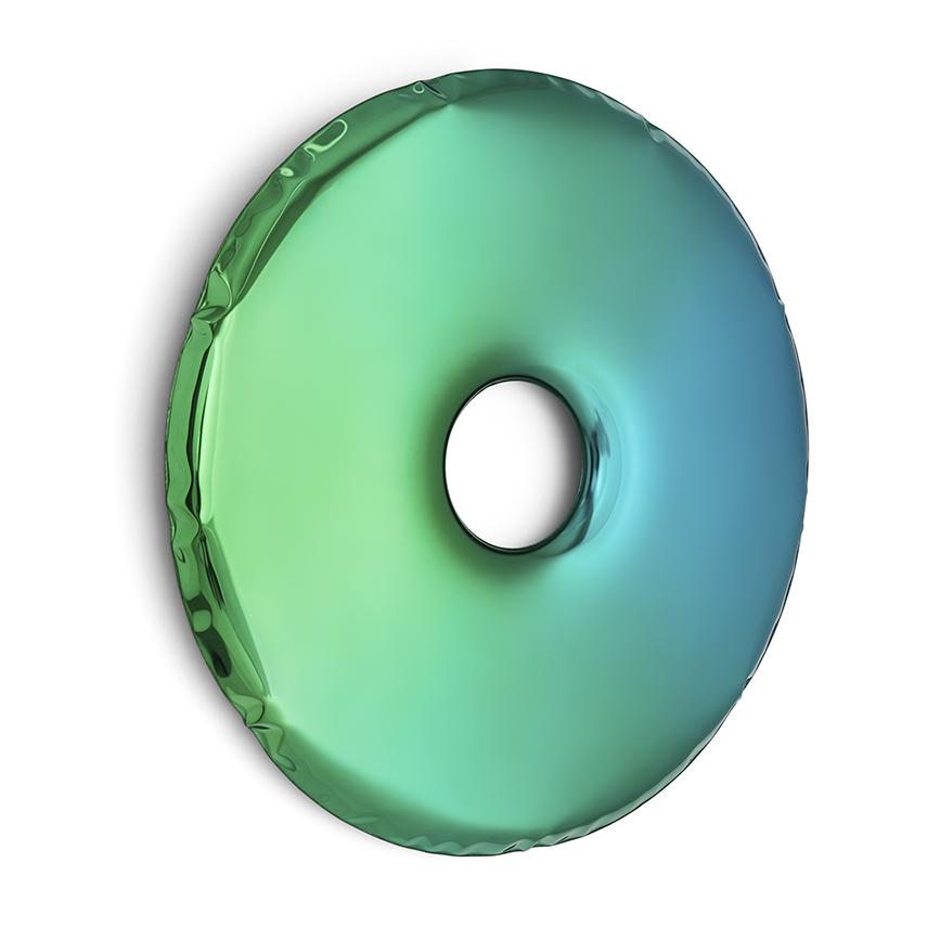 rondo sapphire/emerald gradient mirror by zieta studio
