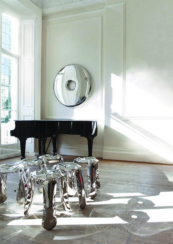 rondo mirror inox plopp
