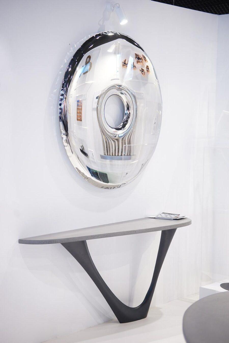 rondo mirror inox g-console