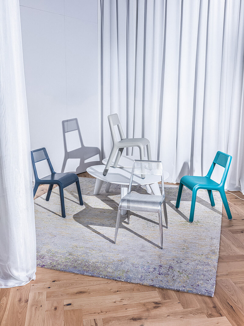 ultraleggera chairs in colours