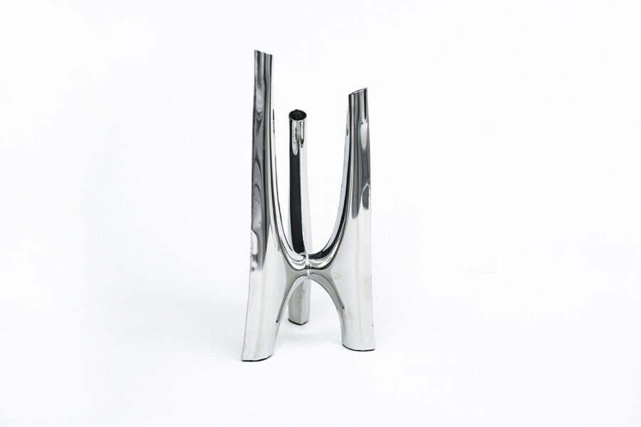 triglav candle holder white background