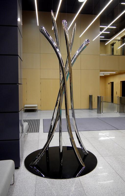WIR Public Sculpture Oskar Zieta Parametric Design