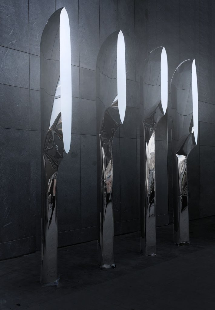 FIREFLY public sculpture by Oskar Zieta, public art, FiDU, inflated metal, öffentliche Skulptur, aufgeblasen metall, öffentliche Kunst