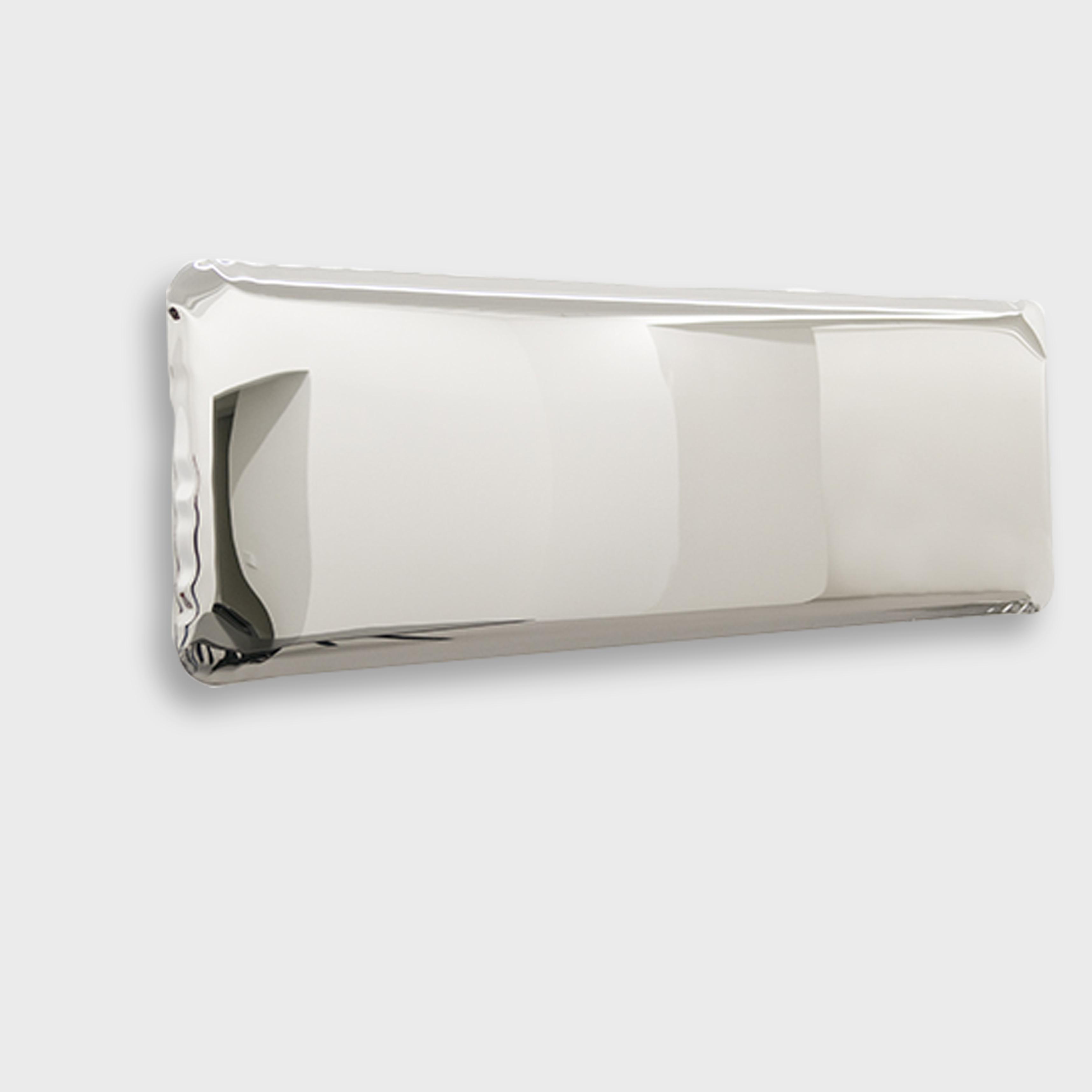 Tafla, mirror, Oskar Zieta, inflated metal, furniture, art, Metall spiegel aufgeblasener, lustro, color, miroir,